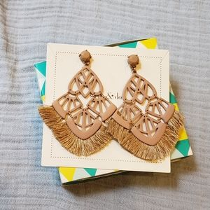 Stella and Dot Chandelier Earrings